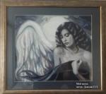 Картина Мой ангел посвящается дочери