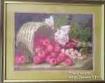 Картина Розы и малина