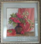 Красный натюрморт по мотивам фото Луизы Гельтс