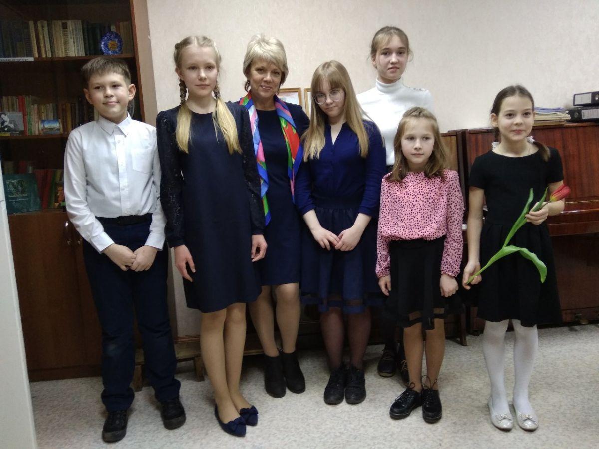 Концерт класса преподавателя Колесниковой Светланы Борисовны