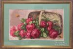 Розы в лукошке