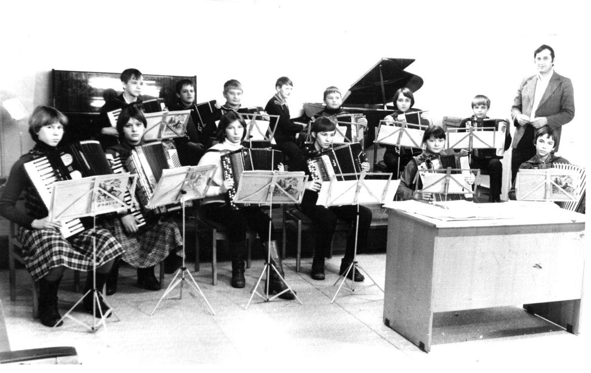 оркестр баянов